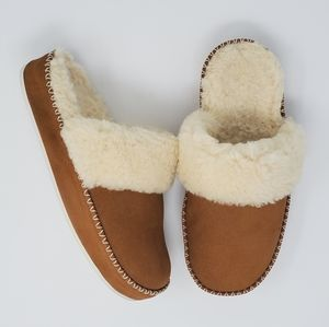 Vionic Sublime Marley Slipers Chestnut Size 8
